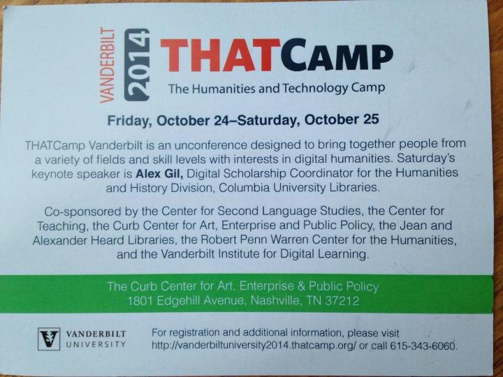 THATcamp2